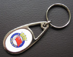 PWSTS metal key ring